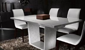Chọn mặt bàn ăn bằng đá tự nhiên. Tại sao không?