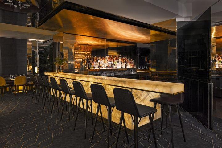 Đá Onyx Phòng Bếp và quầy Bar