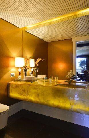 Đá Onyx Phòng Tắm và Lavabo